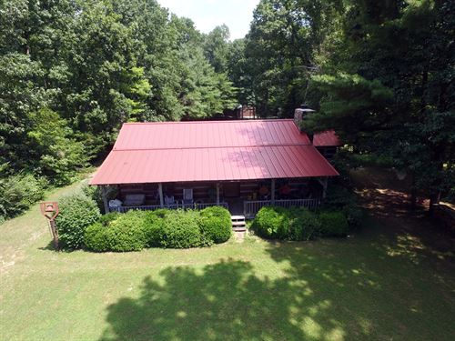 Log Home On 93 Acres : Wartburg : Morgan County : Tennessee