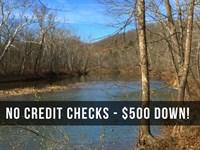 9.7 Acres With River Frontage : Camdenton : Camden County : Missouri