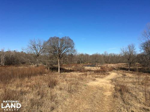 River Frontage Homesite With Ponds : Union County : South Carolina