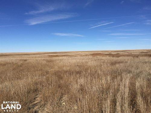 Dry Land Farm Ground For Sale Cheye : Kit Carson : Cheyenne County : Colorado