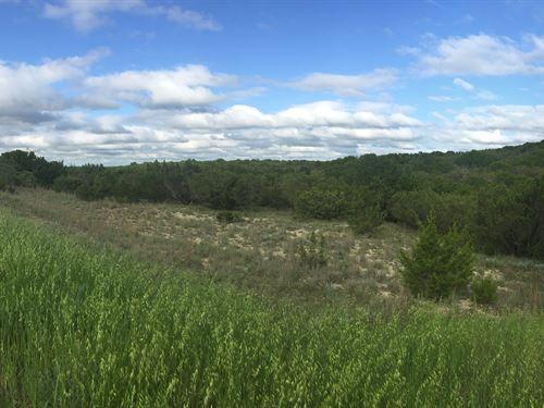 Nice 5+ Acre Lot Near Lake : Bluff Dale : Erath County : Texas