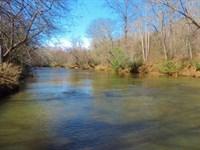 Broad River Frontage/ Huge Hardwood : Carnesville : Franklin County : Georgia