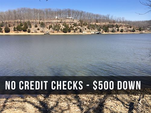 41 Acres With Lake Frontage : Camdenton : Camden County : Missouri