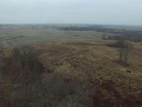 80 Acres Hwy Dd : Browning : Sullivan County : Missouri