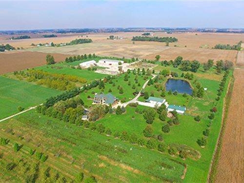 Real Estate Auction-80.9 Ac In 3 Tr : Sheridan : Hamilton County : Indiana