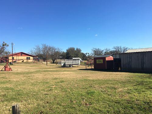 7+ Acre Horse Property : Dublin : Erath County : Texas