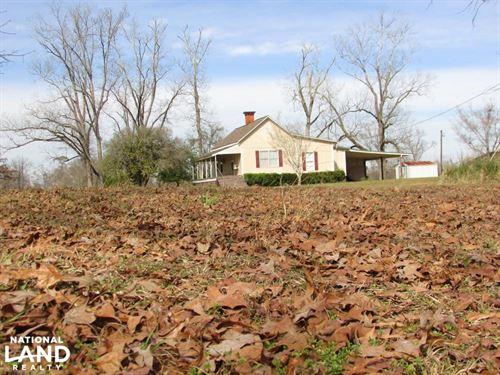 Lumpkin 9.5 Acres And Country Home : Lumpkin : Stewart County : Georgia