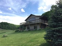 Delightful Country Home 55+/- Acres : Blue River : Richland County : Wisconsin