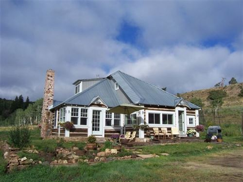 Little Grey Home In The West : Powderhorn : Gunnison County : Colorado