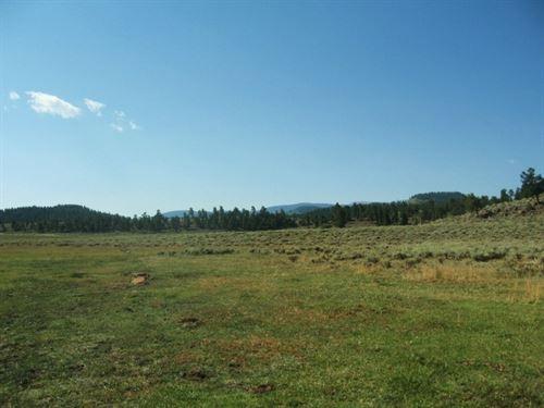 Powderhorn Mesa Ranch : Powderhorn : Gunnison County : Colorado