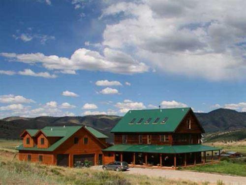 Powderhorn Creek Ranch : Powderhorn : Gunnison County : Colorado