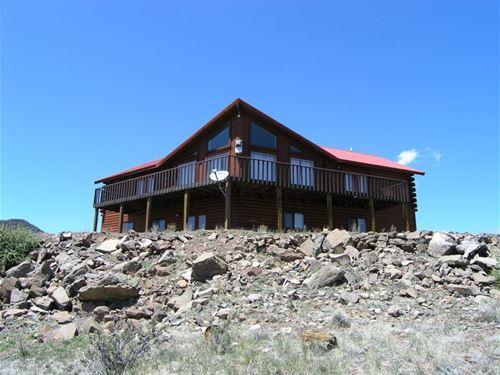 Mountain Top Home : South Fork : Rio Grande County : Colorado