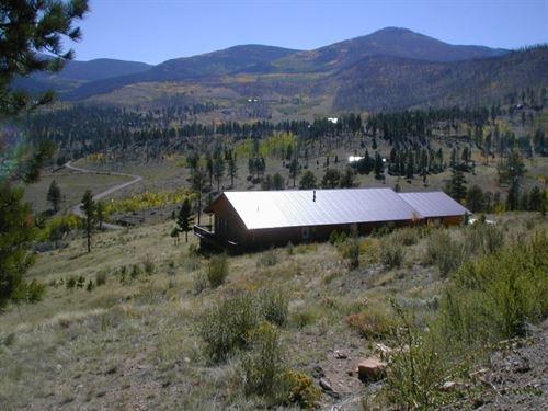 Panoramic Views - Willow Park Home : South Fork : Rio Grande County : Colorado