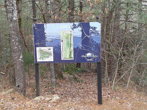 Lot 13 Timber Ridge Subdivision : Ferguson : Wilkes County : North Carolina
