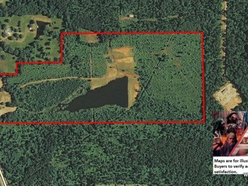 82 Ac - Development Tract With Two : Vienna : Lincoln Parish : Louisiana