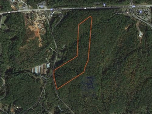 24.73 Acres Great Location Right : Salem : Oconee County : South Carolina
