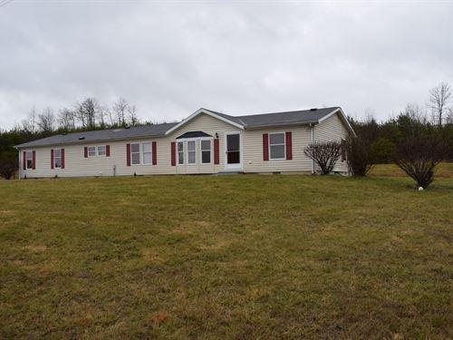 10.6 Acre Tract W 2000 Sq Ft Home : Patriot : Gallia County : Ohio