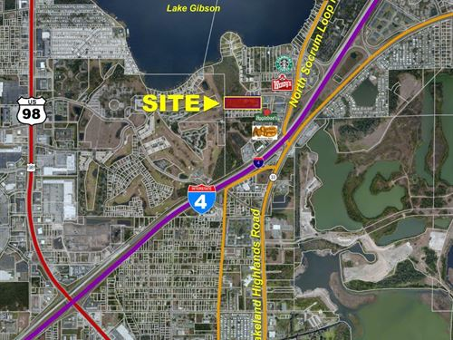 Lakeland Residential Land : Lakeland : Polk County : Florida