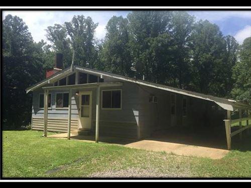 Wooded 45 Acres W 3 Bedroom Home : Wellston : Jackson County : Ohio