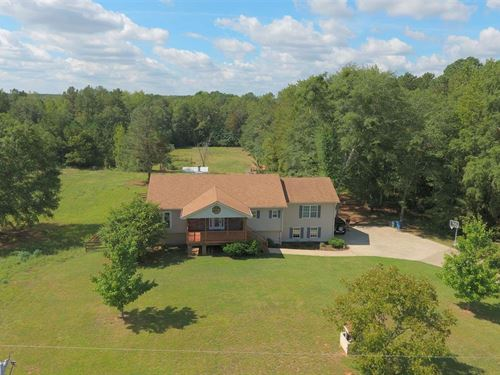 Charming Ranch On 5 Acres Of Fenced : Monroe : Walton County : Georgia