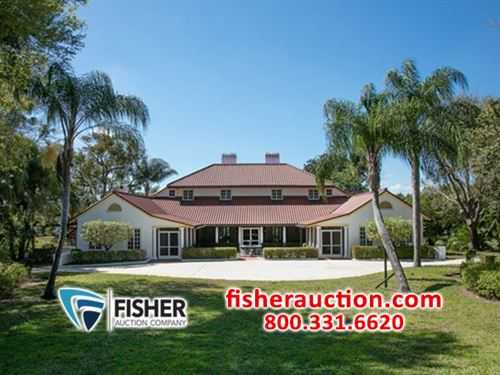 Magnificent Lakefront Estate Home : Lake Wales : Polk County : Florida