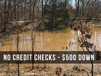 10 Acres With Your Own Private Pond : Mountain View : Howell County : Missouri
