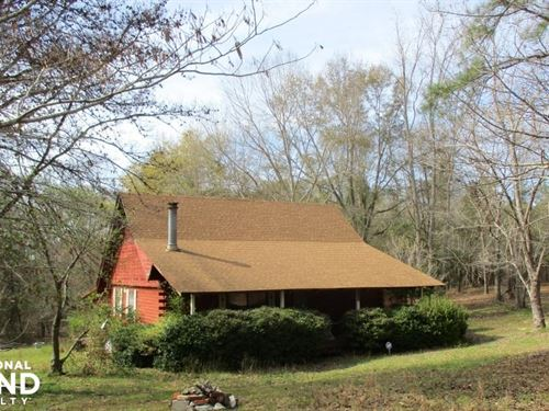 Lumpkin Cabin And 9.5 Acres : Lumpkin : Stewart County : Georgia
