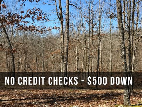 10.85 Acres At White Tail Crossing : Mountain View : Howell County : Missouri