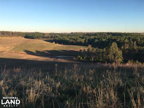 Hogue Creek Hunting Land : Flat Rock : Jackson County : Alabama