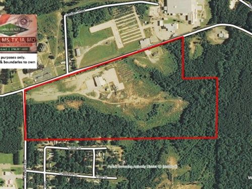 60 Ac, Commercial Tract With Offic : Ruston : Lincoln Parish : Louisiana