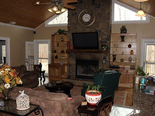 Very Nice Home, Workshop, Woods : Wetumpka : Elmore County : Alabama