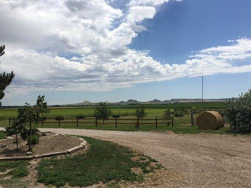 Gering Area Acreage : Gering : Scotts Bluff County : Nebraska