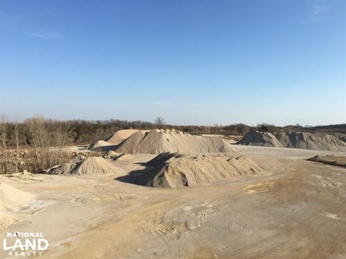 Income Producing Rock Quarry : Lyndon : Osage County : Kansas