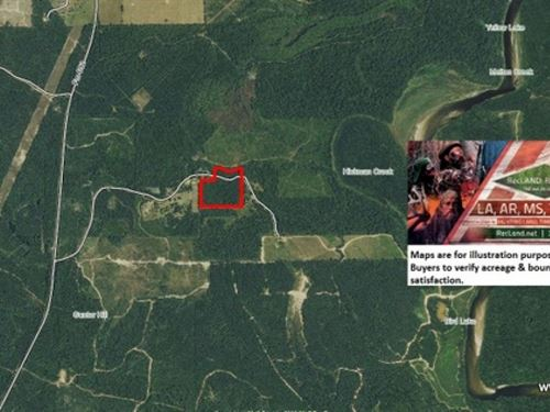 20 Ac - Cutover Timber Tract For Ru : Burkeville : Newton County : Texas