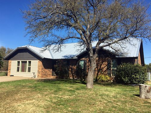 Two-Story Country Home On 10 Acres : Stephenville : Erath County : Texas