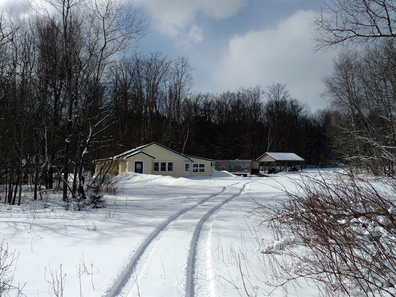 Manistique 120 A & Home : Manistique : Schoolcraft County : Michigan