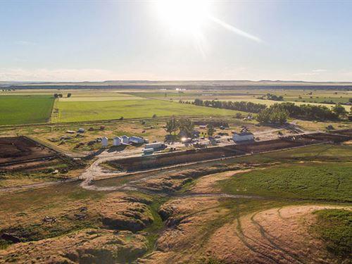 Schaak Productive Farm : Saint Xavier : Big Horn County : Montana
