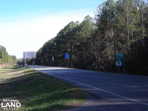 126+ Acre Recreational / Timber Pro : Cedartown : Polk County : Georgia