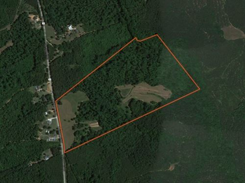 72.25 Acres Great Hunting Or Recrea : Honea Path : Greenville County : South Carolina