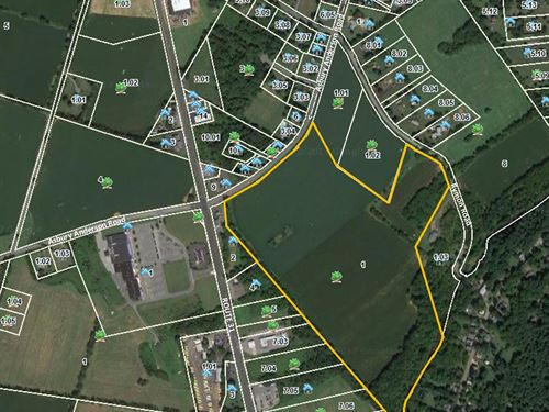 59.7 Acres In Washington Township : Township Of Washington : Warren County : New Jersey