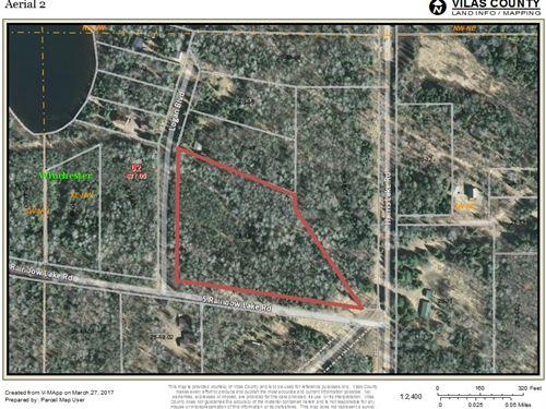 Mls 163665 - Rainbow Lk : Winchester : Vilas County : Wisconsin