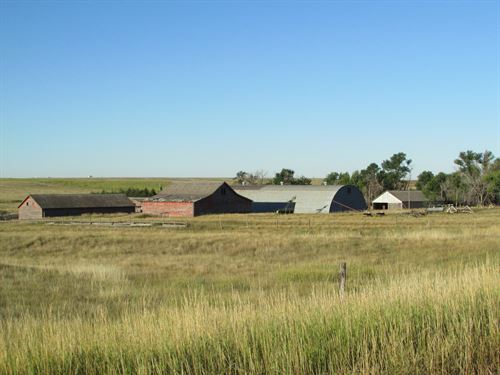 2 Section Banner Co Farm / Ranch : Harrisburg : Banner County : Nebraska