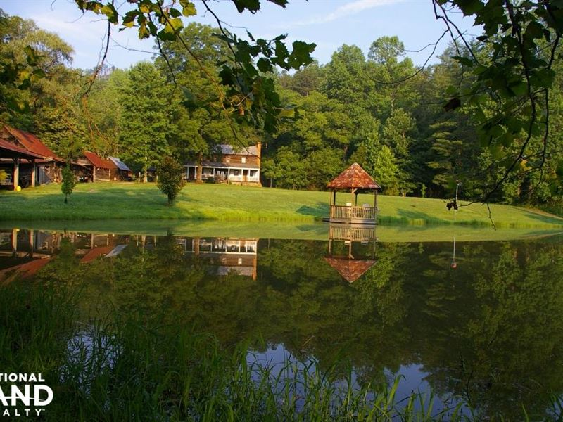 Ecological Resort Equestrian Center : Marion : McDowell County : North Carolina