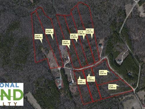 Rural Lots At Greystone Estates - L : Lancaster : South Carolina