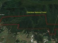 865 Acres Bordering Us Forest : Benton : Polk County : Tennessee