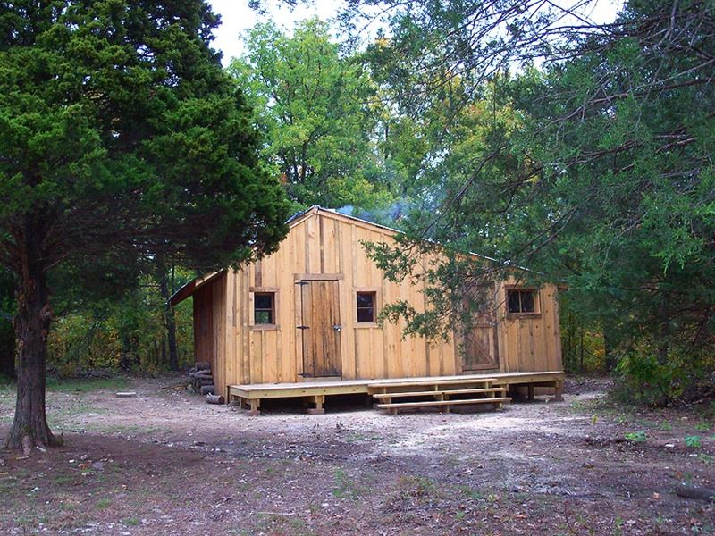Insulated Rustic Cabin On 40 Acres Farm For Sale By