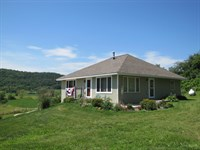 Sweet Country Home On 12+/- Acres : Blue River : Crawford County : Wisconsin