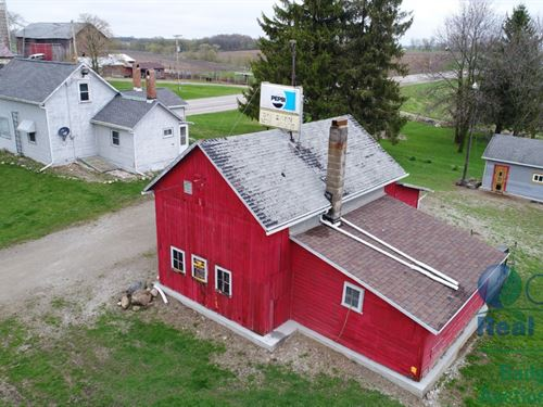 Turn Key Farmette With 3 Bdrm Home : Reeseville : Dodge County : Wisconsin