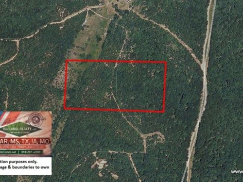 20 Ac Wooded Hunting Tract : Climax Springs : Camden County : Missouri