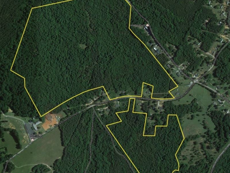 139 Acres Hunting / Recreationa : Clinton : Laurens County : South Carolina